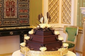 Bolo de chocolate do casamento de Kate e William
