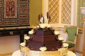 Bolo de chocolate do casamento de Kate e William