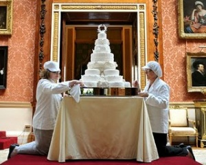 Bolo de casamento de William e Kate