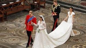 Vestido de casamento de Kate Middleton