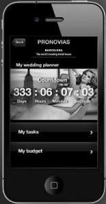 Aplicativo Pronovias para Iphone, Ipad e Ipod Touch