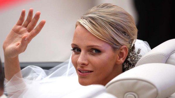 Maquiagem de noiva, casamento da princesa Charlene de Monaco