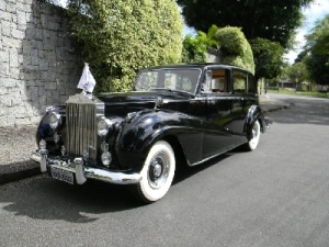 Autos Antigos Rolls Royce Limousine 1956