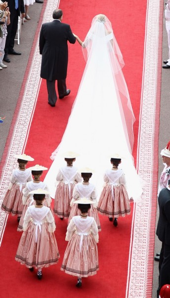 Vestido de noiva da princesa Charlene de Mônaco