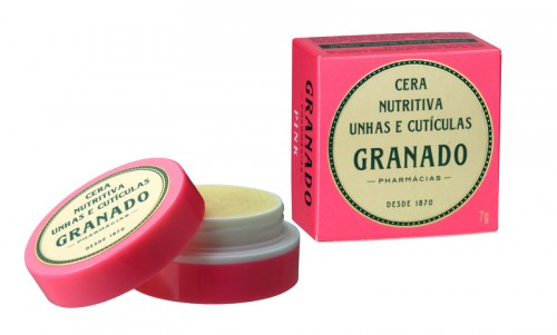 Cera nutritiva para unhas granado