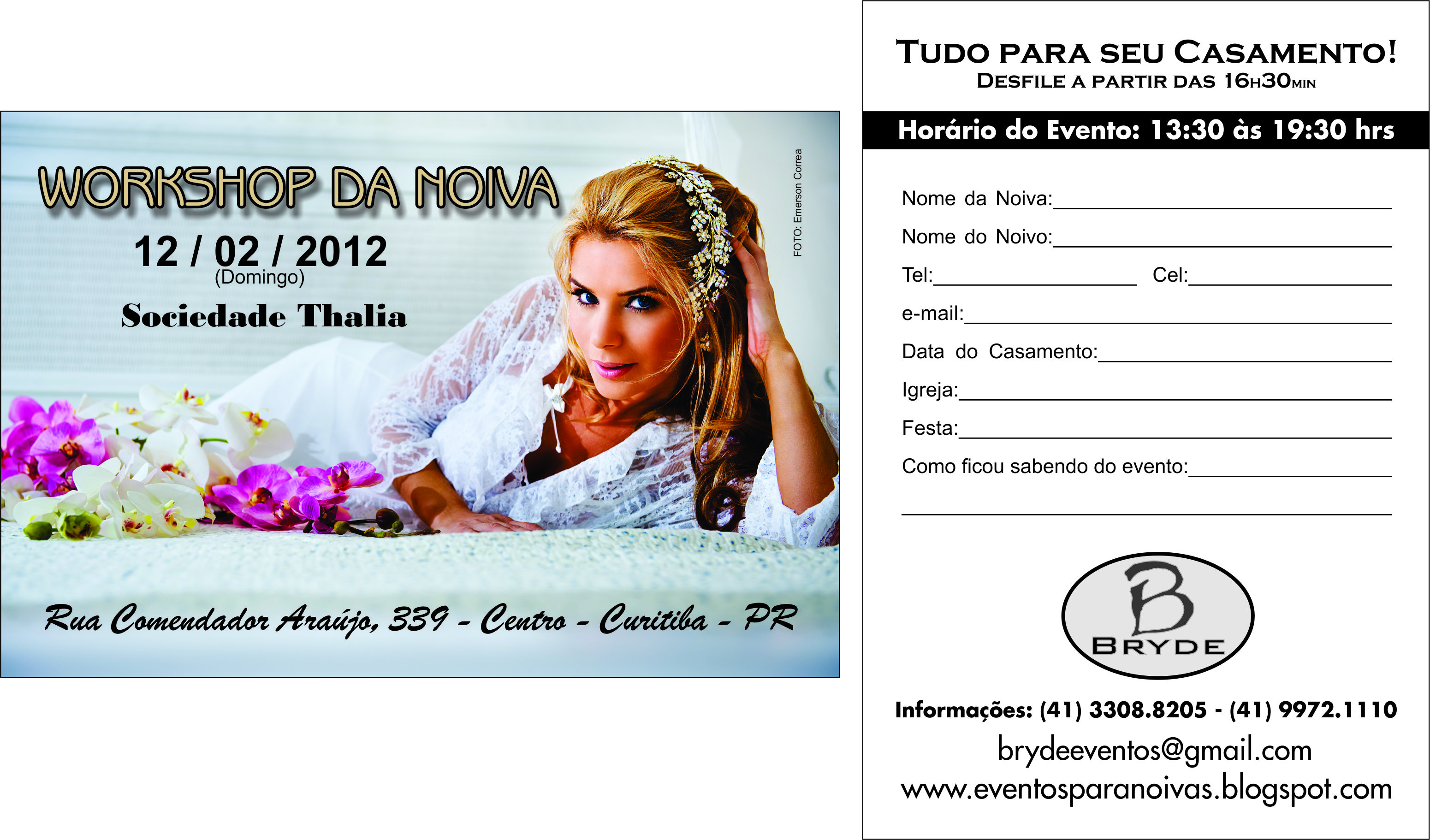 Workshop da Noiva Socidade Thalia