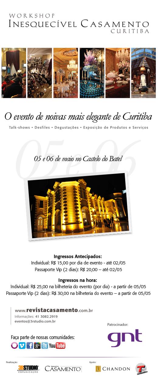 III Workshop Inesquecível Casamento Curitiba